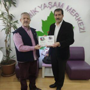 Azerbaycan Kurucu Cumhurbaşkanı Ebulfez Elçibey'in Oğlu Elçibey Vakfı Başkanı Sayın Agil Sametbeyli Maranki Hocayı İstanbul Topkapı'da Bulunan Kozmik Yaşam Merkezimizde Ziyaret Ettiler.
