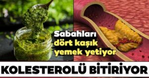 Kolesterolü bitiren süper besin…