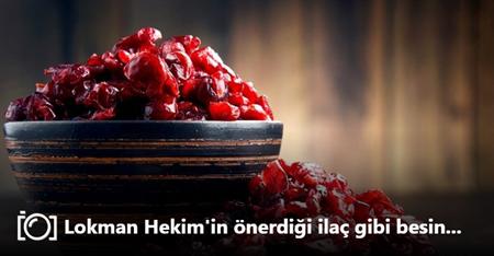 Lokman Hekim'in önerdiği ilaç gibi besin…
