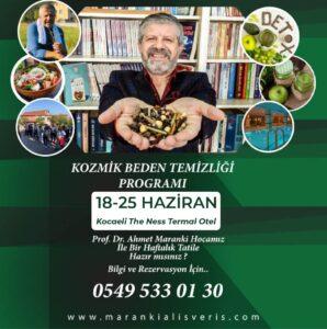 KOCAELİ 5 YILDIZLI THE NESS TERMAL OTEL'de KOZMİK BEDEN TEMİZLİĞİ !..